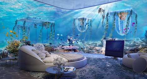 Underwater Luxury Resorts - Dubai's 'Floating Venice' Has Guests Travel to Rooms by Gondola