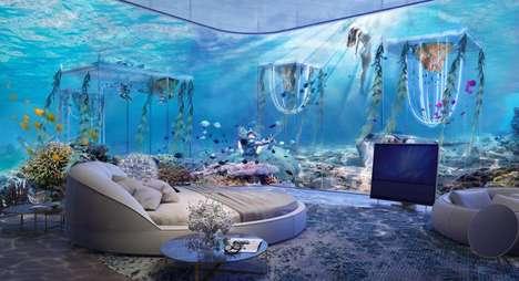 Underwater Luxury Resorts