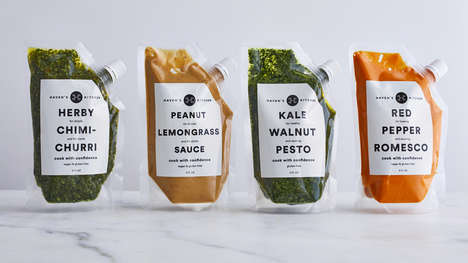 15 Healthy Packaging Innovations - From Futuristic Sauce Packaging to Waste-Reducing Banana Bars
