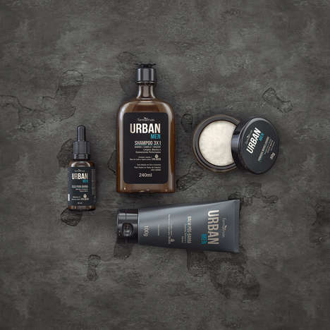 Hop-Infused Haircare - Farmaervas' Urban Men Collection Includes Hops Extract as an Ingredient