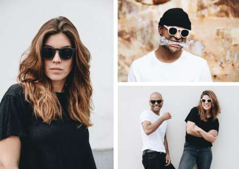 Upcycled 3D-Printed Sunglasses - w.r.yuma Offers the First Ever 3D-printed Sunglasses of This Kind