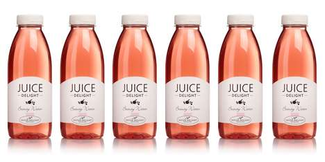 Beautifying Floral Beverages - Detox Delight's Juice Delight Beauty Water Supports a Healthy Glow