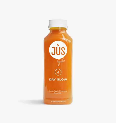 Glow-Boosting Smoothies - JUS by Julie's 'Day Glow' is Packed with Vitamin A, C and Fiber