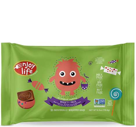 Free-From Halloween Candies - Enjoy Life's Miniature Halloween Candies are Allergy-Friendly