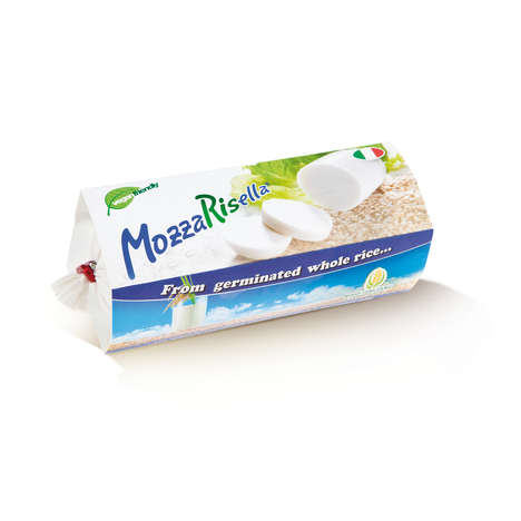 Vegan Mozzarella Alternatives - 'MozzaRisella' is a Cheese Alternative Made from Sprouted Brown Rice