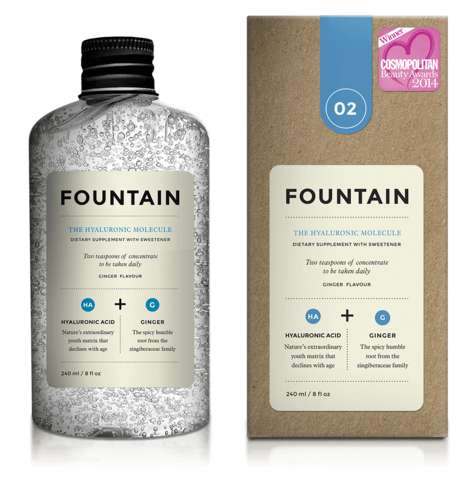 Drinkable Skincare Products - 'Hyaluronic Molecule' is a Skincare Product in the Form of a Beverage