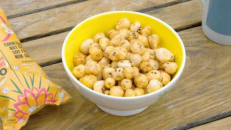 Lily-Dervied Snack Puffs - 'Lily Puffs' Makes Its Superfood Snack from Water Lily Seeds