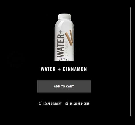 Health-Focused Cinnamon Waters - Juice Press's 'Water + Cinnamon' Offers Health Benefits
