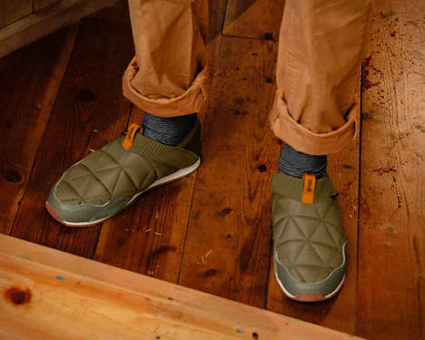 Hybrid Outdoor Sneaker Slip-Ons - The Teva Ember Moc is Utilitarian in Use Yet Comfy