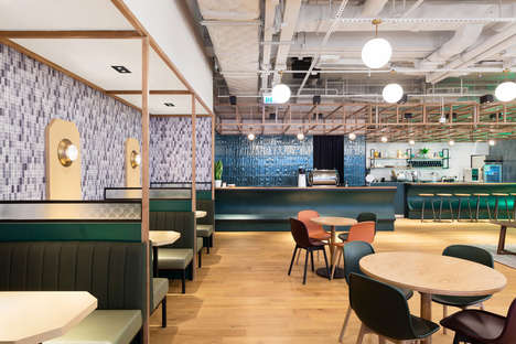 Expansive Coworking Offices - The WeWork Coworking Office in Hong Kong Offers a Collaborative Space