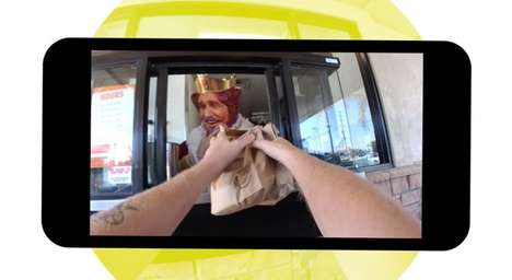 POV Drive-Thru Ads - This Burger King Advertisement Was Shot Entirely on Snapchat Spectacles
