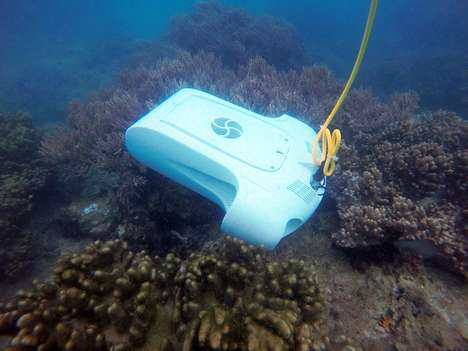 Exploratory Deepwater Drones - The YouCan BlueWater 1 Underwater Drones Explore Like Never Before
