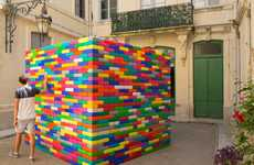 LEGO Hut Installations