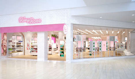 Gen Z Cosmetic Stores - 'Riley Rose' is Forever21's Newest Conceptual Beauty Store