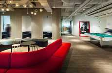 Multi-Spectrum Office Environments - Ogilvy & Mather's Office Promotes Unconventional Thinking