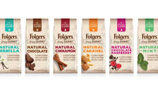 Artificial Flavor-Free Coffees - The Folgers Simply Gourmet Coffees are Rich and Natural