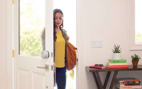 Sensor-Packed Door Locks - This Connected Door Lock Sends You Timely Smartphone Notifications