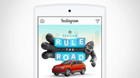 Virtual City Scavenger Hunts - Volkswagen's Rule the Road Campaign Engages Instagram Users