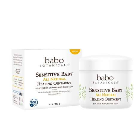All-Natural Baby Ointments - Babo Botanicals' New Healing Ointment is Free of Irritating Ingredients