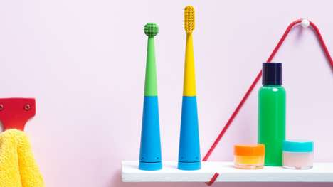 Smart Musical Toothbrushes - BleepBleeps' Benjamin Brush is Connected to a Music Store