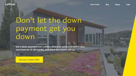 Home-Sharing Down Payments - Loftium Offers Down Payments in Exchange for Airbnb Rentals