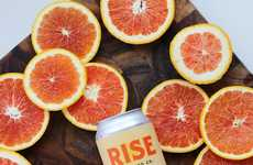 Citrusy Cold Brews - Rise Brewing Co.'s Newest Flavor Melds the Taste of Orange and Coffee