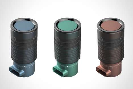 Premium Titanium Asthma Inhalers - The 'LUFT' Inhalers for Asthma Sport a Stylish Aesthetic