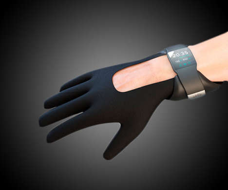 Strength-Enhancing Gloves - The Nuada Glove Improves Gripping, Pushing and Lifting When Worn