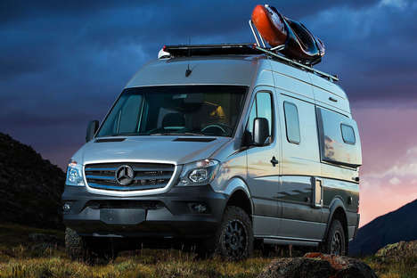 Off-Grid Camper Vans - The Winnebago Revel Packs Everything for Short or Extended Trips