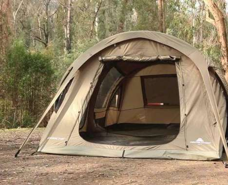 Pole-Free Inflatable Tents
