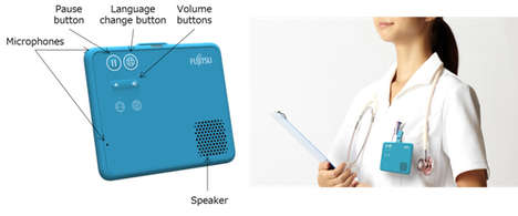 Healthcare Translation Wearables - This Wearable from Fujitsu Does Speech Translation in Real-Time