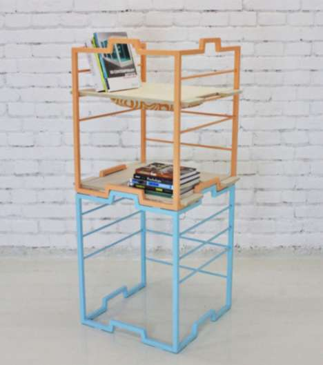Tool-Free Multi-Purpose Furniture - The Versatile BLOK 3/1 is Perfect for Compact Spaces