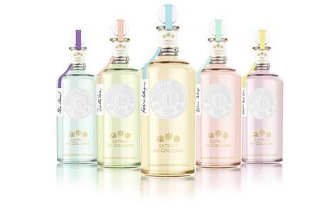 Naturally Inspired Perfumes - 'Extraits de Cologne' Products Contain Up to 90% Natural Ingredients