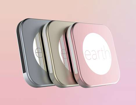 Stylish Cable-Incorporated Chargers - The 'Pluto by earth' Powerful Power Bank is Slim and Demure