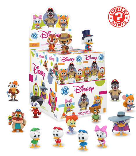 Collectible Retro Cartoon Toys - The New Funko Disney Mystery Minis Celebrate Classic Programming