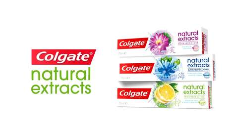 Asian-Inspired Toothpastes - Colgate 'Natural Extracts' Integrates Ancient Remedies for Oral Care