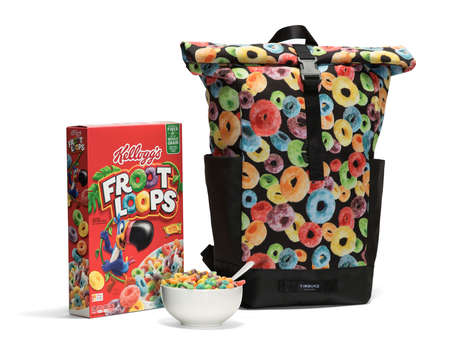 Cereal Brand Backpacks - Timbuk2 and Froot Loops Collaborated on the 'Tuck Pack'