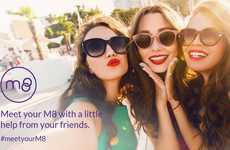 Rewarding Friend Matchmaking Apps - The 'M8' Dating App Has Your Friends Picking Matches for You