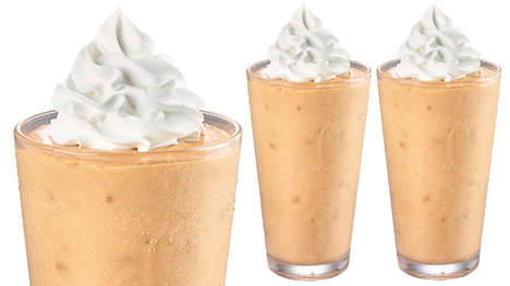 Autumnal Spice Milkshakes - The Krystal Pumpkin Spice Milkshake is Inspired by Southern Tradition