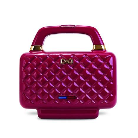 Diamond-Shaped Sandwich Makers - Dash's 'Couture Sandwich Maker' Looks Like a Luxurious Handbag