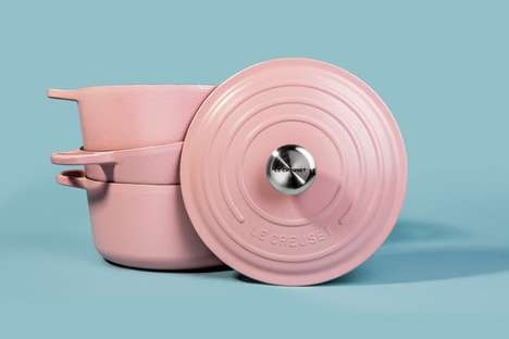 Top 50 Kitchen Ideas in October - From Millennial Pink Cookware to Freeform Baking Pans