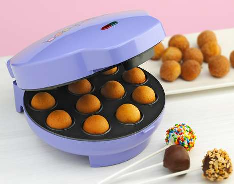 At-Home Cake Pop Makers - Baby Cakes' Cake Pop Maker is Portable and Easy to Use