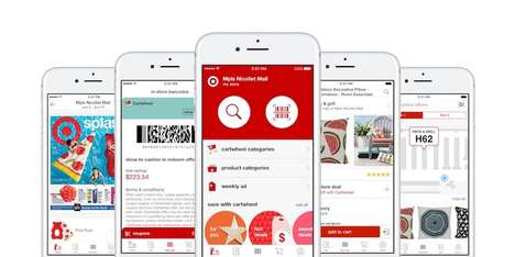 In-Store Product-Detecting Apps - Target's App Will Direct a Shopper to a Product Via an Indoor Map