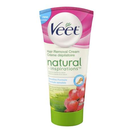 Natural Hair Removal Creams - Veet's 'Natural Inspirations' Was Made with Grape Seed Oil