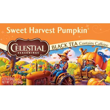 Autumnal Pumpkin Teas