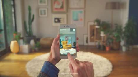 Furniture-Previewing Apps - 'IKEA Place' is an Augmented Reality App for Viewing Decor