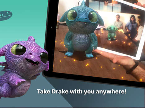 AR Companion Apps - 'Follow Me Dragon' Makes It Possible to Interact with a Mythical Creature
