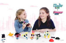 Children's Printer Pen Kits - The 3Doodler Start x Powerpuff Girls Pen Set Encourages Customization