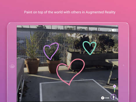 Augmented Painting Apps - 'World Brush' Helps Users Create Anonymous, Location-Specific AR Paintings