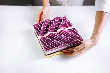 Top 100 Design Trends in October - From Intricate Architectural Pastries to Holographic Flatware